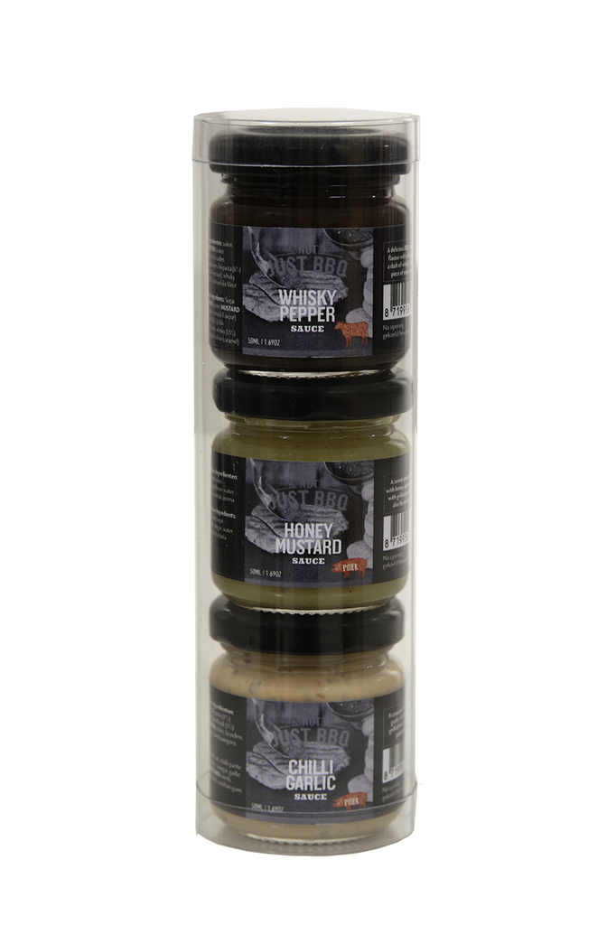 sauces Gift pack 3x50ml x 19