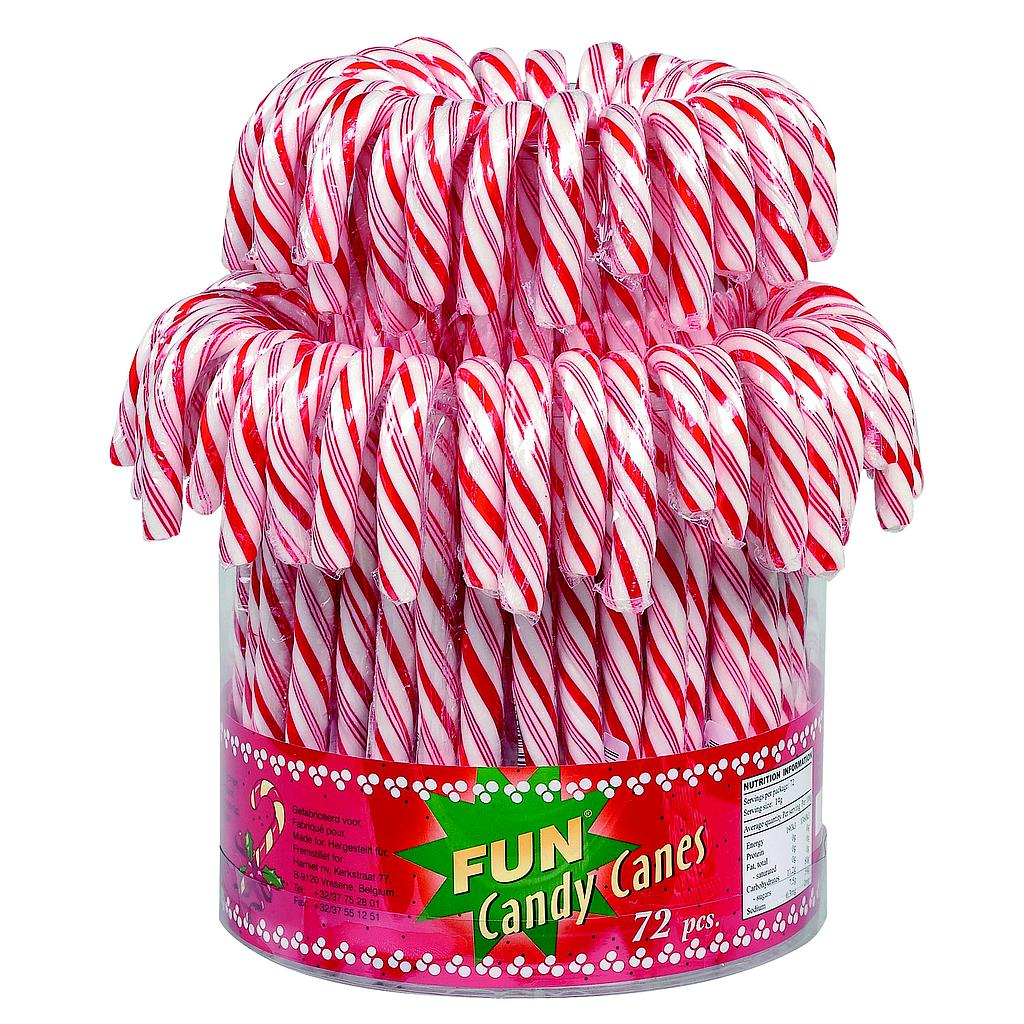Mini candy cane 14g x 72