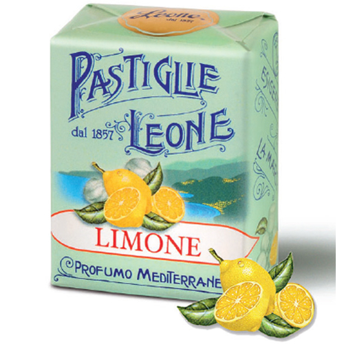 Pastilles citron, display 18  btes carton 30g